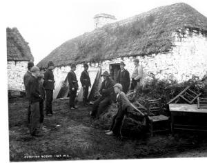 Famine Eviction Scene