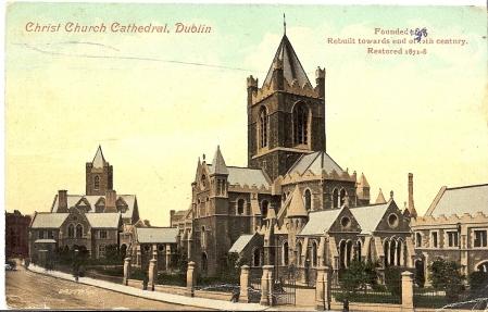 Christ Church Postcard