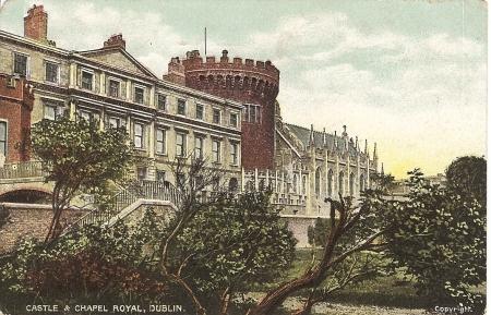 Dublin Castle Postcard