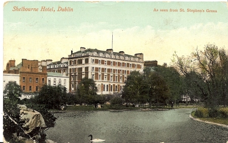 Shelbourne Hotel Postcard