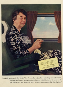 080d4f111 Eleanor Roosevelt la unched the American knitting effort for WWII when with  a  Knit for Defense  tea she held at the Waldorf-Astoria in New York City.